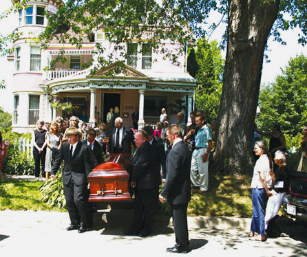 home funeral